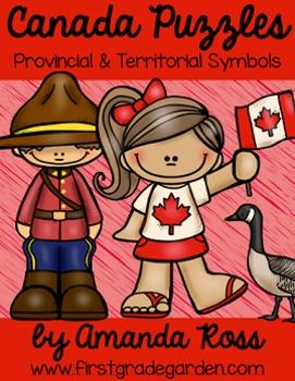 Canada Puzzles: Provincial & Territorial Symbols