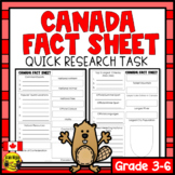 Canada Quick Research Project