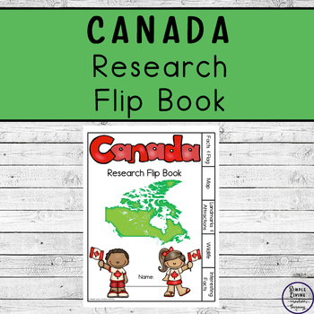Canada Research Flip Book