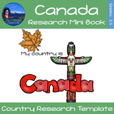 Canada - Research Mini Book