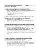 Canada Social Studies Quiz/ Activity