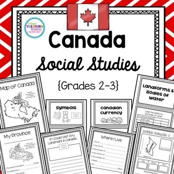 Canada Social Studies Unit