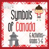 Canada! CANADIAN SYMBOLS Activities PRINT and TPT DIGITAL
