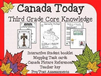 Canada Today - Third Grade Core Knowledge