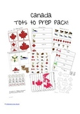 Canada Tot to Prep Pack