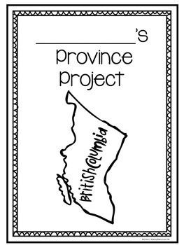 Canada Research: Provinces & Territories