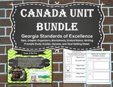 Canada Unit Bundle (Sixth Grade)