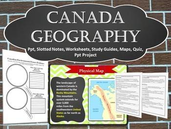 Canada Unit Bundle (Sixth Grade)