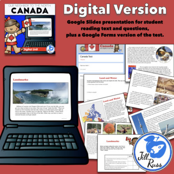 Canada Unit and Lapbook Bundle with Informational Text