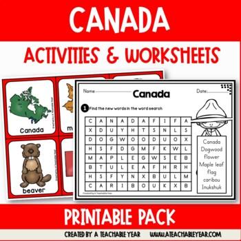 Canada - Vocabulary Pack
