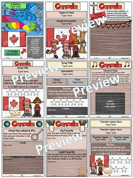 Canada World Music Digital Passport