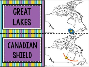 Canada and Australia Flashcards