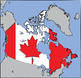 Map Clip Art: Canada and Canadian Province Set {Messare Cl