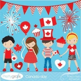 Canada day clipart commercial use, vector graphics, digital clip art - CL537