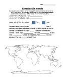 Map of the world - en francais!