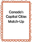 Canada's Capital Cities Match-Up