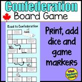 Canada's Confederation Board Game
