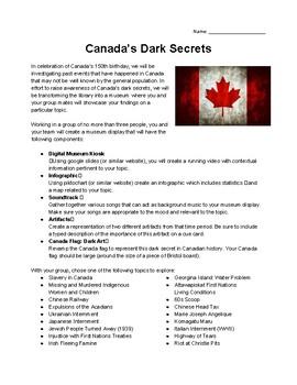 Canada's Dark Secrets