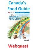 Canada's Food Guide Webquest