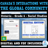 CANADA'S INTERACTIONS WITH GLOBAL COMMUNITY - Ontario Soci
