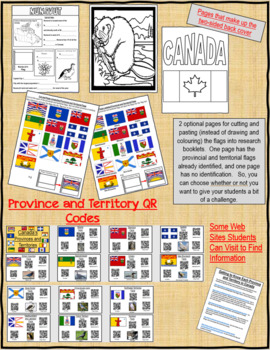 Canada's Provinces and Territories Basic Research Booklet