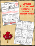 Canada's Provinces and Territories Research Booklets Bundle