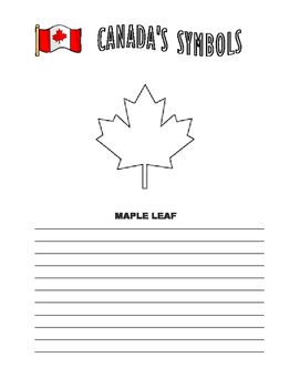 Canada's Symbols Research