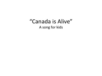 Canada song