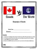 Canada vs. The World Assignment + Rubric