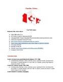 Canadain Culture and English Language Learners Activities