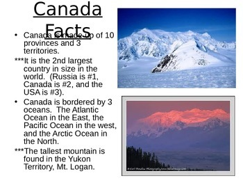 Canada's Culture and Geography