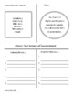 Canadian Government: Graphic Organizers,Task Cards