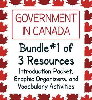 Canadian Government - Mega Bundle of 7 Resources!