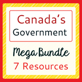 CANADIAN GOVERNMENT Mega BUNDLE of Resources PRINT and TPT