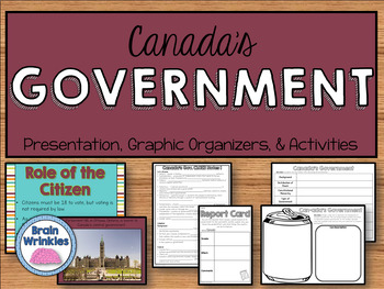 Canada's Government (SS6CG3)