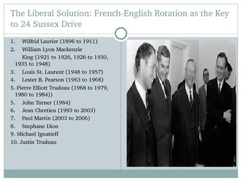 Canada's History of French-English Relations to the Pearson Years, 1775 to 1968