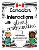Canada's Interactions with Global Communities {Gr. 6 Ontario Social Studies}