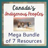 Canada's INDIGENOUS PEOPLES Mega BUNDLE 7 Resources PRINT