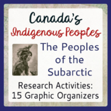 Canada's Native People of the Subarctic Graphic Organizers, Traditional Ways