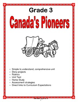 Canada's Pioneers