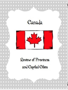 Canada's Provinces and Capital Cities