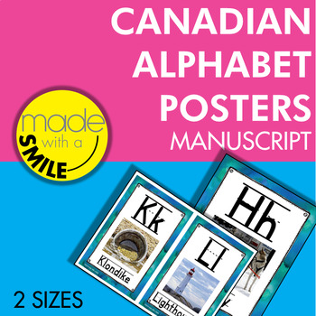Canadian Alphabet Posters (With Images) Manuscript
