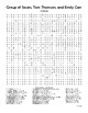 Canadian Art (Group of Seven, Tom Thomson, Emily Carr) Word Search