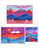 Canadian Art Project - Grade 4, 5 and 6