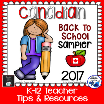 Canadian Back To School SAMPLER 2017
