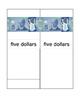Canadian Bills Matching Cards Montessori