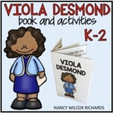 Canadian Black History Month with Viola Desmond Book and A