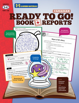 Canadian Book Reports for Beginners Grades 5-6