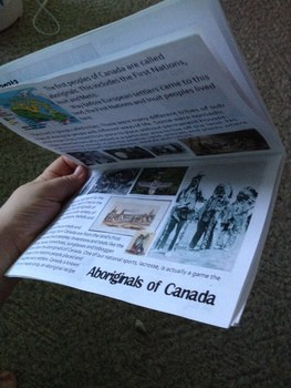 Canadian Booklet - Social Studies, History, Science