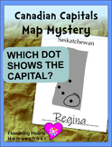 Canadian Capitals Map Mystery